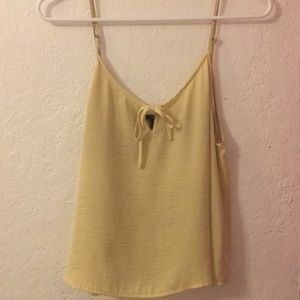 Yellow forever 21 tank top 🐥